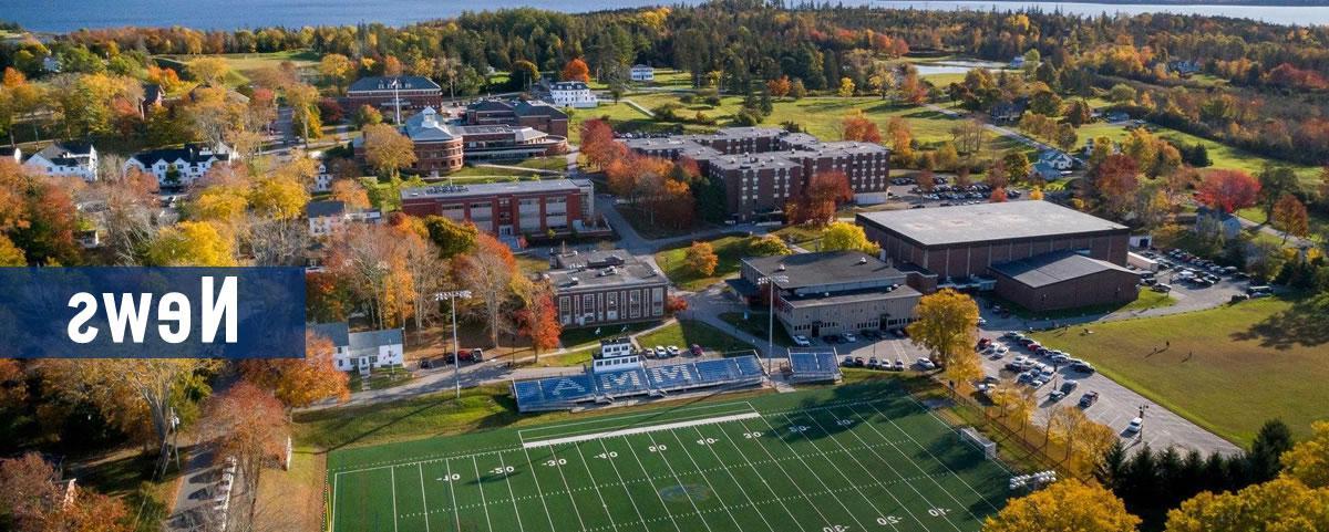空中的校园照片